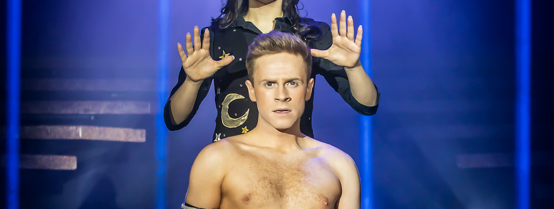Britain's Got Talent sensation Mark McMullan makes his Musical Theatre debut