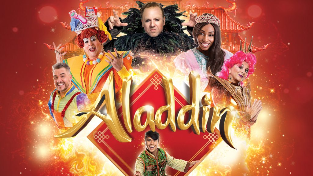 Aladdin - Peterborough Pantomime - New Theatre Peterborough